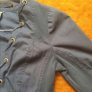 XCVI Grey-Blue Jacket Small [Previously Owned]